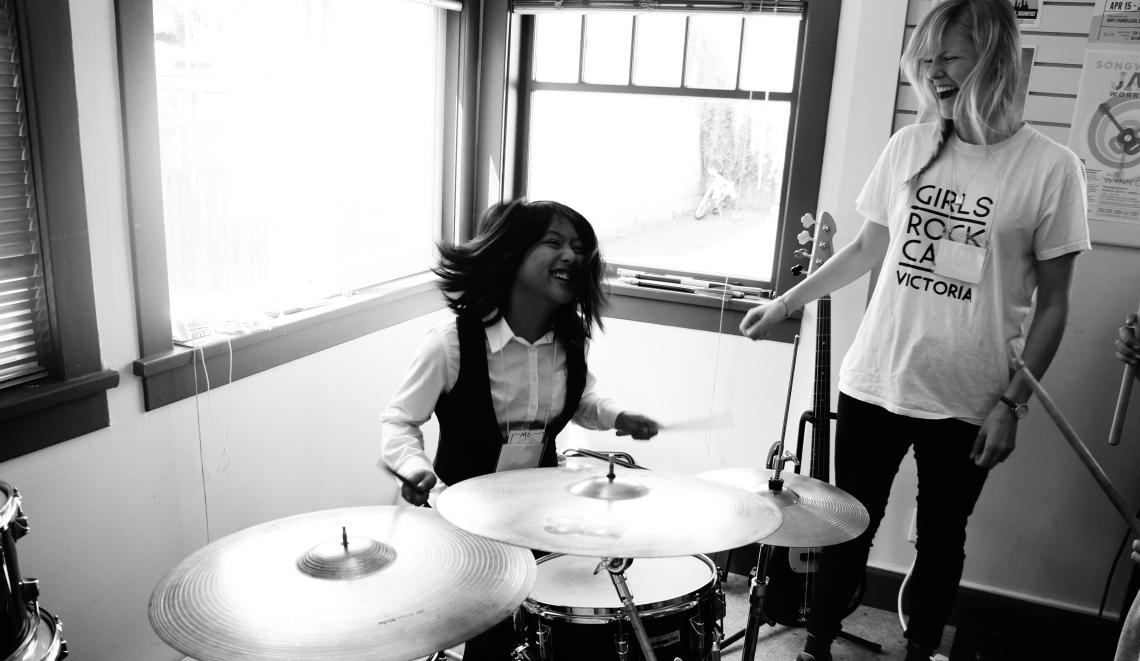 Girls Rock! drums